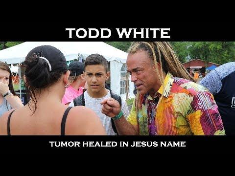 Todd White - Tumor Eradicated in Jesus name