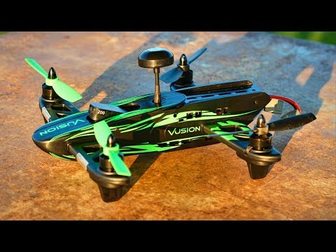 Black & Green Vusion Racer 250 Beginner FPV Racing Drone - TheRcSaylors - UCYWhRC3xtD_acDIZdr53huA