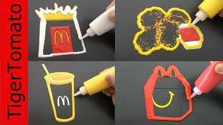 I Made McDonalds Happy Meal Menu With Pancakes