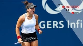 Hot Shot: Bianca Andreescu I Rogers Cup 2019 Third Round
