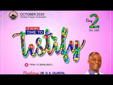 Mid-Month Prayer Rain - Day 2 October 16th 2020