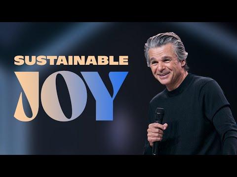 Sustainable Joy  Pastor Jentezen Franklin