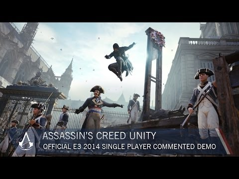 Assassin's Creed Unity: Official E3 2014 Single-Player Commented Demo | Gameplay | Ubisoft [NA] - UCBMvc6jvuTxH6TNo9ThpYjg