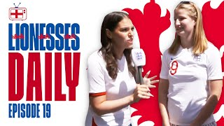 Down With The England Fans in Valenciennes! | Lionesses Daily Ep. 19