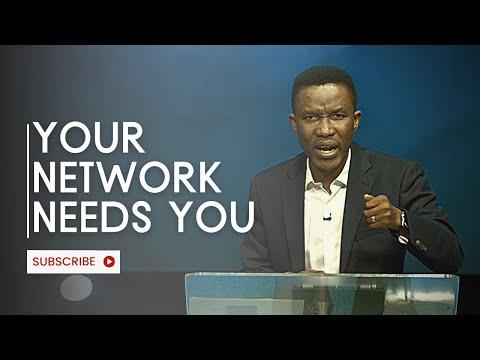 God needs your network / Pastor  Godman Akinlabi // 15th August 2021
