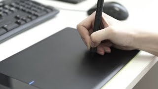 Graphic Designer Using Drawing Tablet | Stock Footage - Videohive