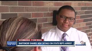 Bartender shares new details on Rep. Dan Forestal's arrest