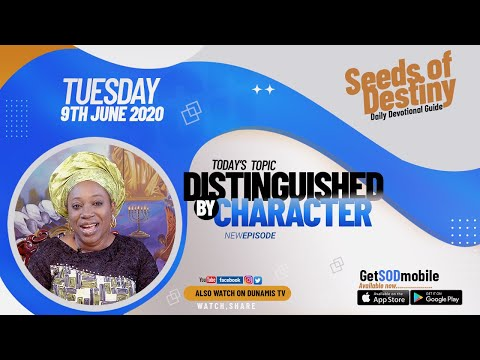 Dr Becky Paul-Enenche - SEEDS OF DESTINY  TUESDAY JUNE 9, 2020