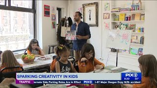 Sparking creativitiy in children