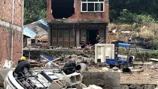 Typhon nightmare: CGTN visits Yongjia's landslide site