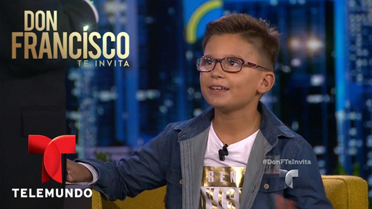 Don Francisco Te Invita | Talentoso niño le canta a Don Francisco | Entretenimiento