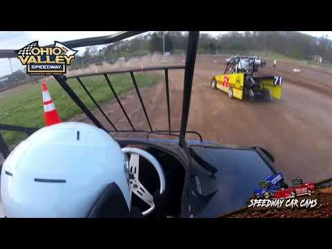 #19 Bentley Carpenter - Ohio Valley Speedway 4-23-21 - Mini Wedge - In-Car Camera - dirt track racing video image