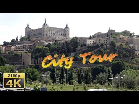 Toledo, City Walk and Bustour, Part 1 - Spain 4K Travel Channel - UCqv3b5EIRz-ZqBzUeEH7BKQ