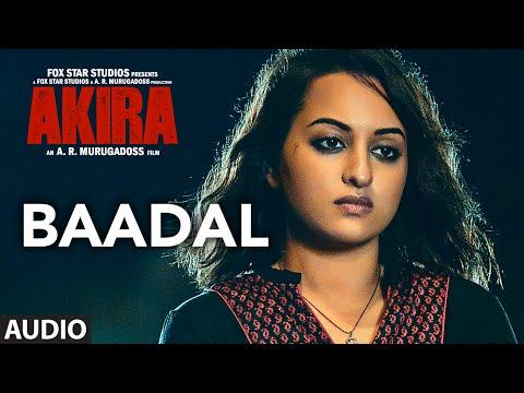 BAADAL LYRICS - Akira Song | Sunidhi Chauhan