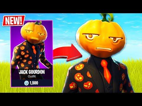 *NEW* Halloween JACK GOURDON Pumpkin Skin in Fortnite!! (Fortnite Live Gameplay) - UC2wKfjlioOCLP4xQMOWNcgg