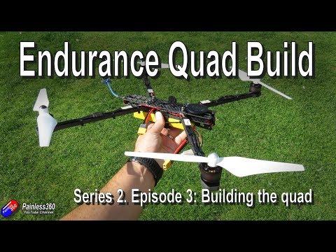 Endurance Quad Build: Building the quadcopter and test hover - UCp1vASX-fg959vRc1xowqpw