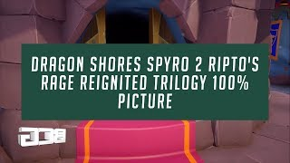 Dragon Shores Spyro 2 Ripto's Rage Reignited Trilogy 100%