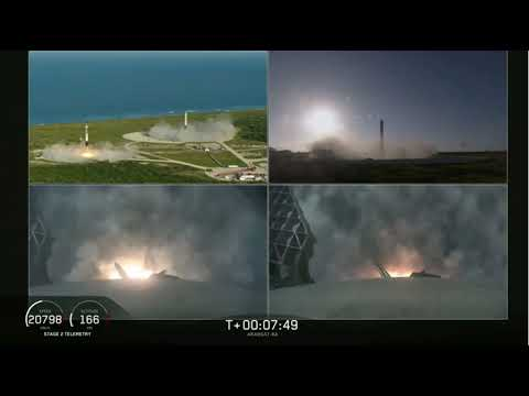 Touchdowns! SpaceX Lands All 3 Falcon Heavy Boosters After Launching Satellite - UCVTomc35agH1SM6kCKzwW_g