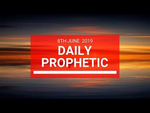Daily Prophetic 8 June 2019   Word 2
