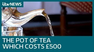 London's most expensive tea costing £500 | ITV News