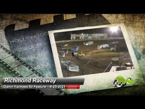 Richmond Raceway - Pro Late Model Feature - 9/25/2021 - dirt track racing video image