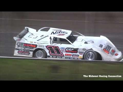 Championship Night Win & Wreck Reel - Cedar Lake Speedway 08/21/2021 - dirt track racing video image