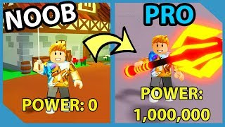 GETTING The BEST SWORD and Becoming SUPER STRONG in Roblox LIMITLESS RPG