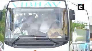 K'taka political crisis: BJP MLAs leave for Karnataka assembly