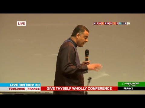WATCH THE GIVE THYSELF WHOLLY CONFERENCE, LIVE FROM TOULOUSE - FRANCE. DAY 3 SESSION 1.