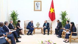 Thủ tướng tiếp Tổng Giám đốc điều hành Tổ chức tài chính quốc tế