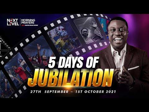 Next Level Prayers  5 Days Of Jubilation  Pst Bolaji Idowu  27th September 2021