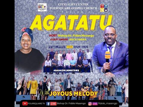 FOURSQUARE TV  ''AGATATU '' With Bishop Dr. Fidele MASENGO 24.03.2021.