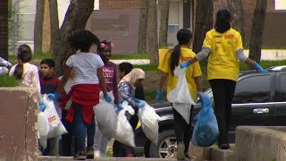 Jamestown neighbourhood youth launch community-wide cleanup