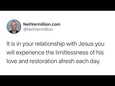 Start Each Day Afresh - Daily Prophetic Word