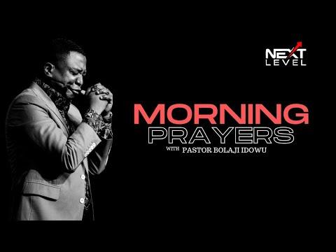 Next Level Prayer: Pst Bolaji Idowu 6th November 2020