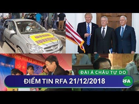 Điểm tin RFA tối 21/12/2018   VN giải quyết tình trạng không quốc tịch cho một số người thiểu số