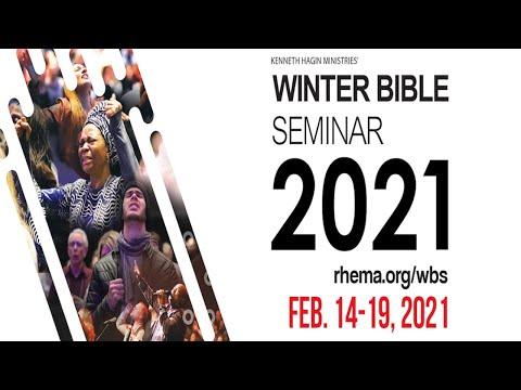 02.18.21  Winter Bible Seminar  Thu. 9:30am  Rev. Tony McKinnon
