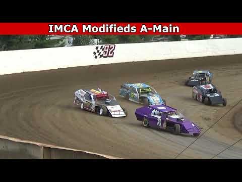 Grays Harbor Raceway, August 7, 2021, IMCA Modifieds A-Main - dirt track racing video image