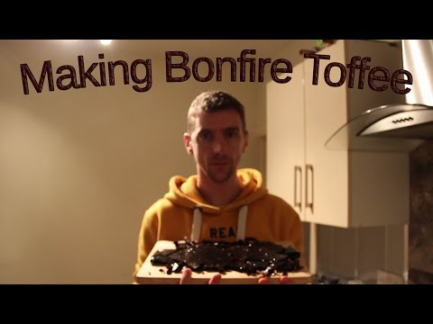 Making Bonfire Toffee