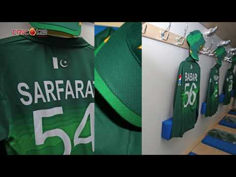 Pakistan Cricket Team New Kit For World Cup 2019