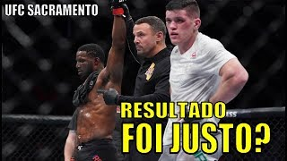 Wellington Turman x Karl Roberson ( Resultados UFC Sacramento )