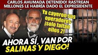 Detención de Carlos Ahumada abre la puerta para refundir a Salinas y a Diego, ¡le dieron millones!