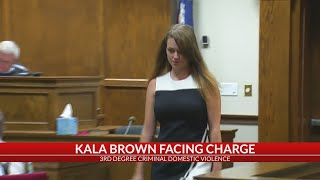 Kala Brown charged with domestic violence in Greenville Co.