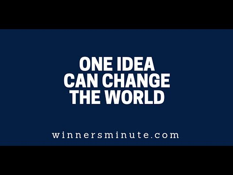 One Idea Can Change the World  The Winner's Minute With Mac Hammond