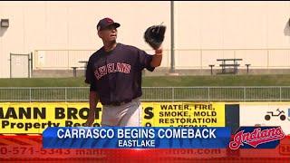 Carlos Carrasco begins comeback