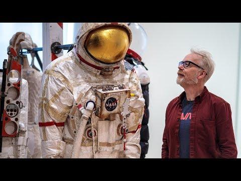 Adam Savage Tours SFMOMA's Spacesuit and Space Art Exhibit! - UCiDJtJKMICpb9B1qf7qjEOA
