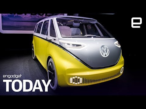 Volkswagen's electric microbus will be US-made | Engadget Today - UC-6OW5aJYBFM33zXQlBKPNA