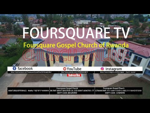 FOURSQUARE TV - SUNDAY FIRST SERVICE 28.06.2020
