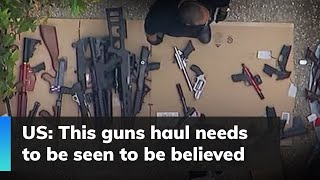 US: This guns haul needs to be seen to be believed