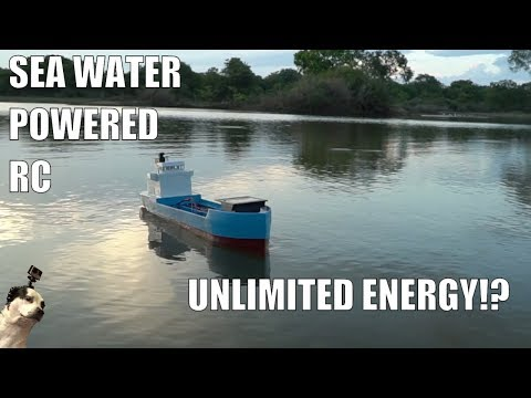 Saltwater Powered RC Boat - UC7yF9tV4xWEMZkel7q8La_w